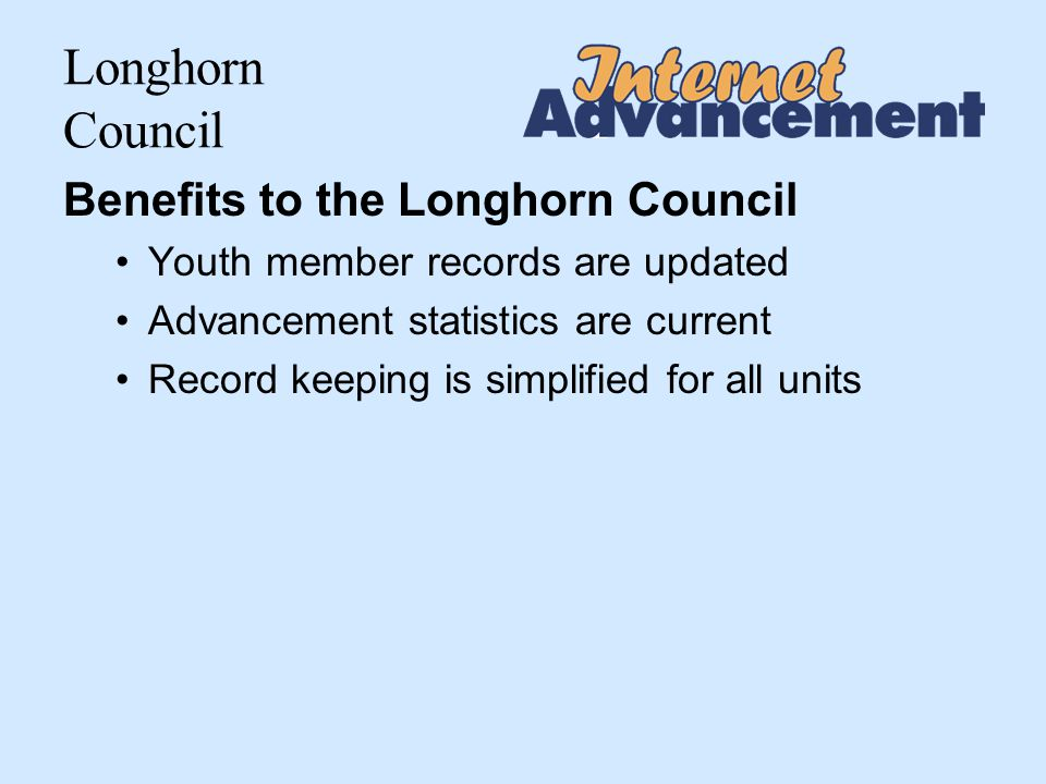 Longhorn Council Select Members for Advancement after Load Roster