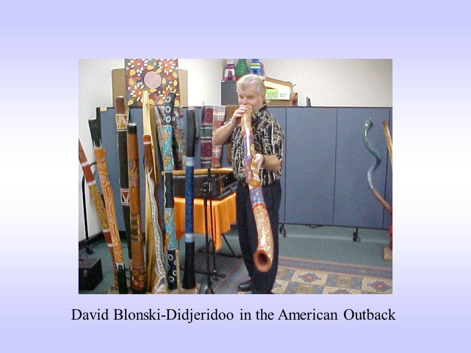 David Blonski-Didjeridoo in the American Outback