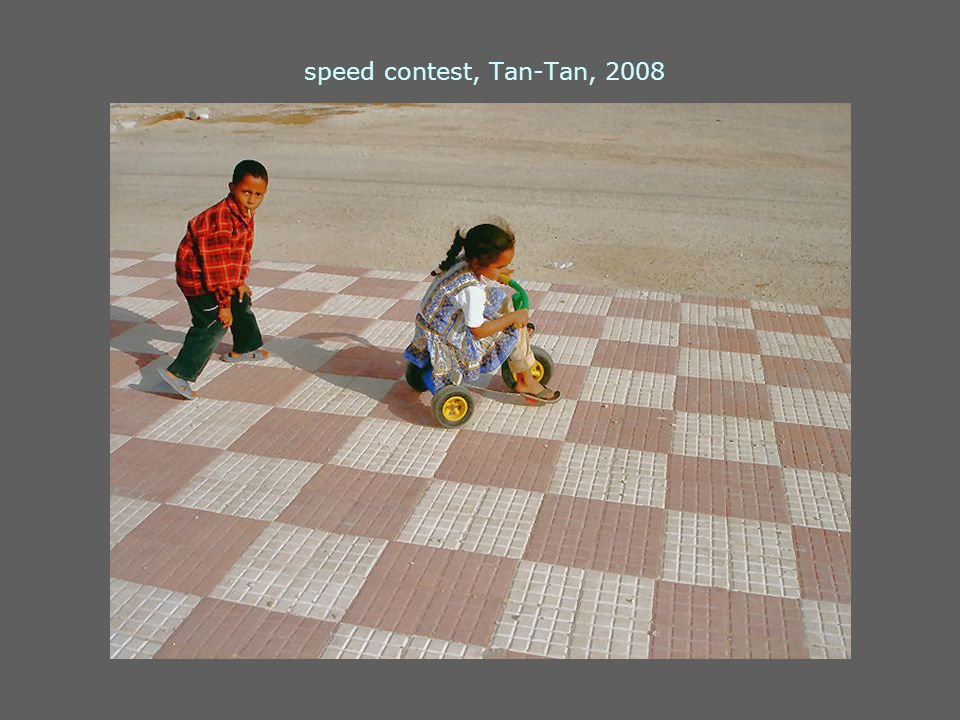 speed contest, Tan-Tan, 2008