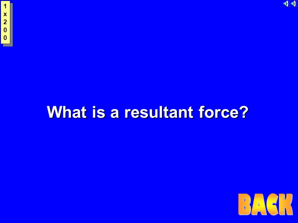 1x2001x200 1x2001x200 What is a resultant force?