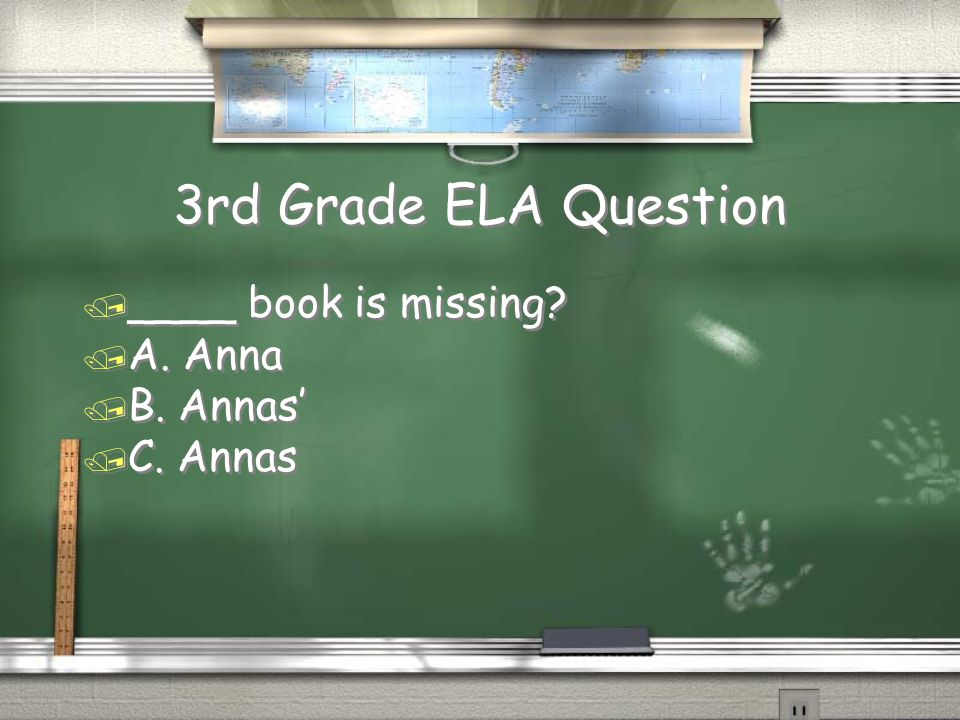 3rd Grade Math Answer Return