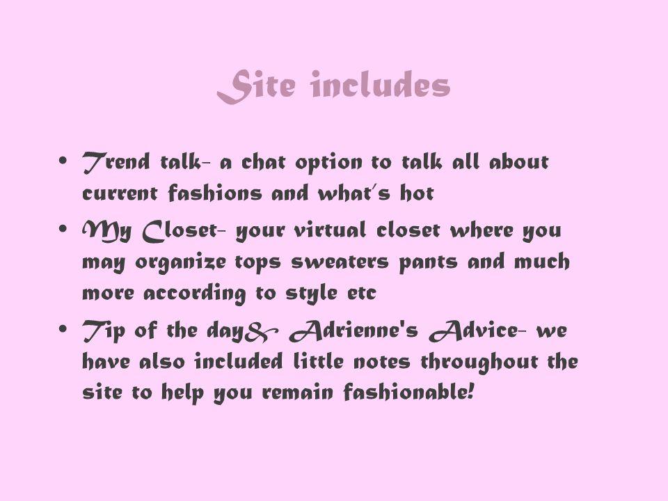 Our Website http://www.onlinecloset.doodlekit.com/blog