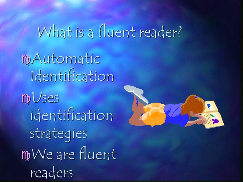 FLUENT READER FLUENT READER