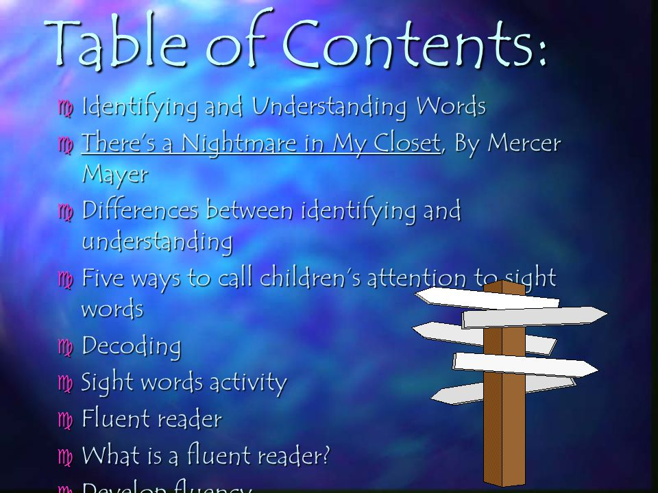 CHAPTER5: Identifying and Understanding Words BY: Annalisa C. Dimeo EDUC 231