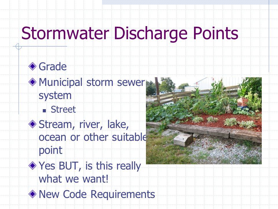 Calculating Water Storage
