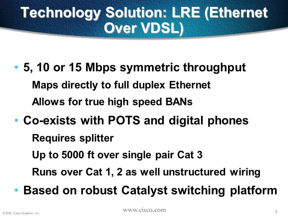 4 © 2000, Cisco Systems, Inc.