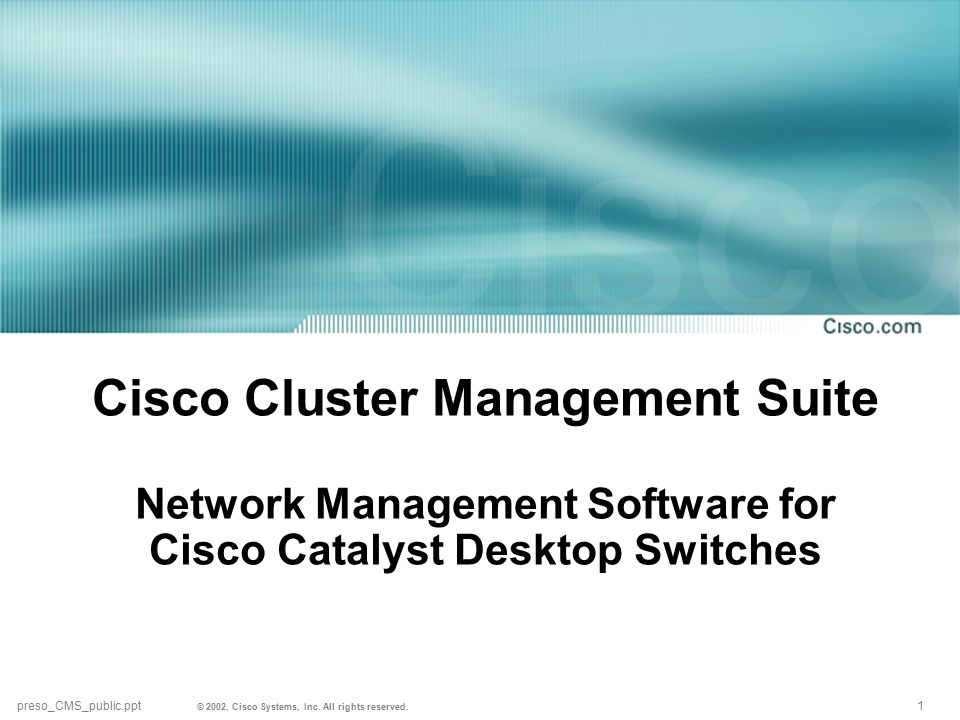 © 2002, Cisco Systems, Inc.All rights reserved.
