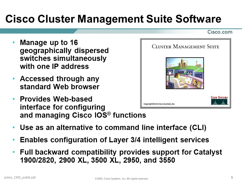 © 2002, Cisco Systems, Inc. All rights reserved.