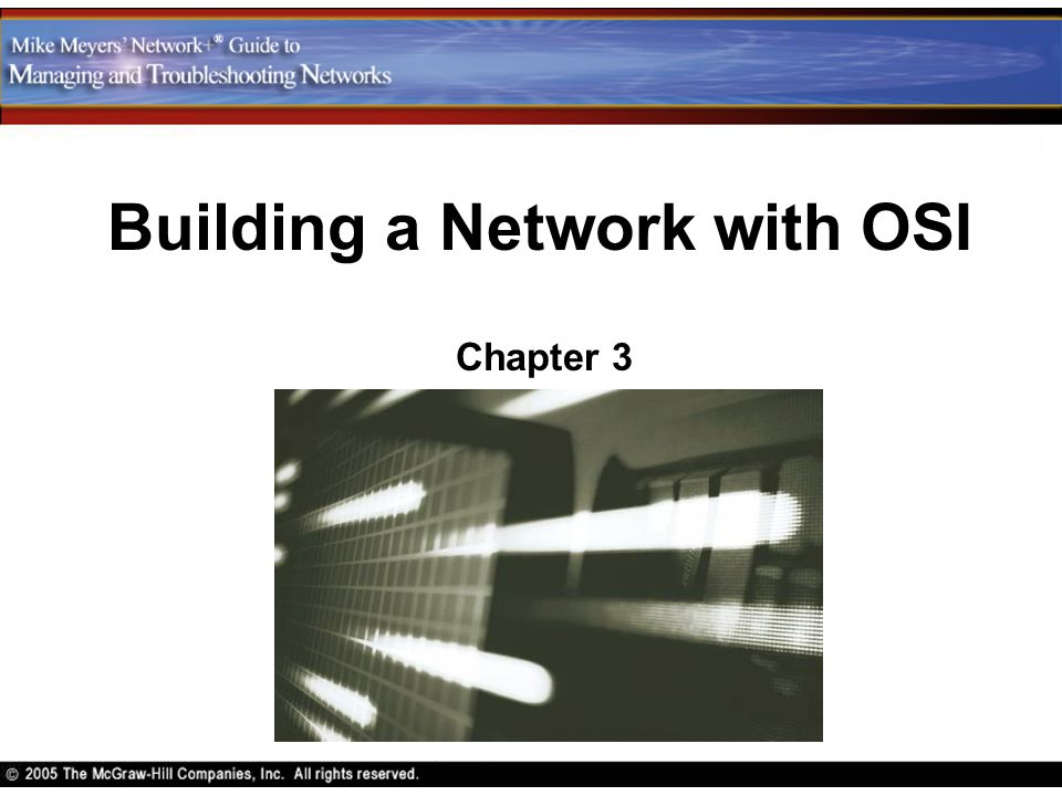 Contents Explain the major functions of network hardware Describe the functions of network software Define each of these functions as part of the OSI seven-layer model