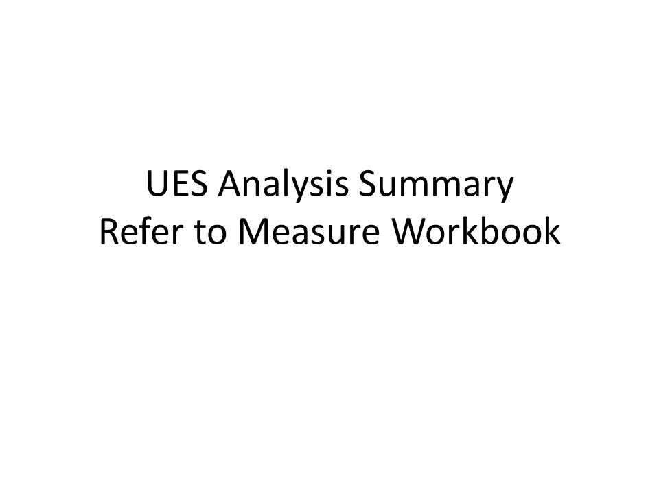Analysis Approach (1) Lighting calculated with LPD method Appliance savings from existing RTF measures Calibrated SEEM runs for estimating – heating, cooling, ventilation, and DHW DHW energy use – Parallel analysis to HPWH presented in 2011