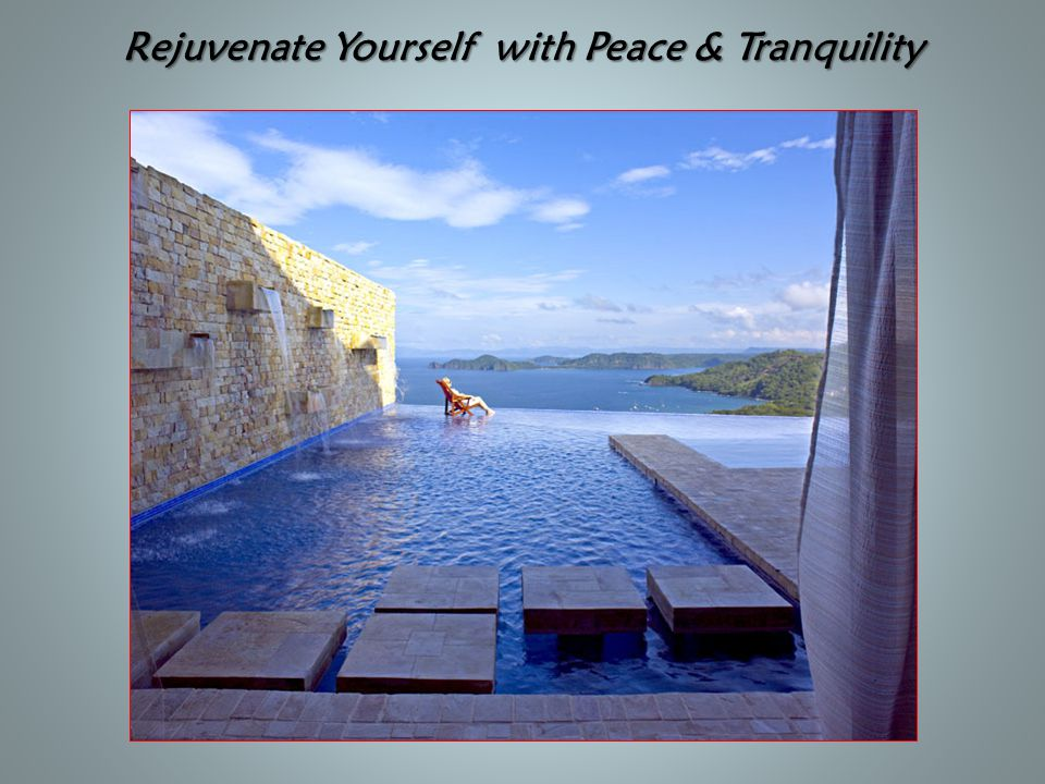 Rejuvenate Yourself with Peace & Tranquility