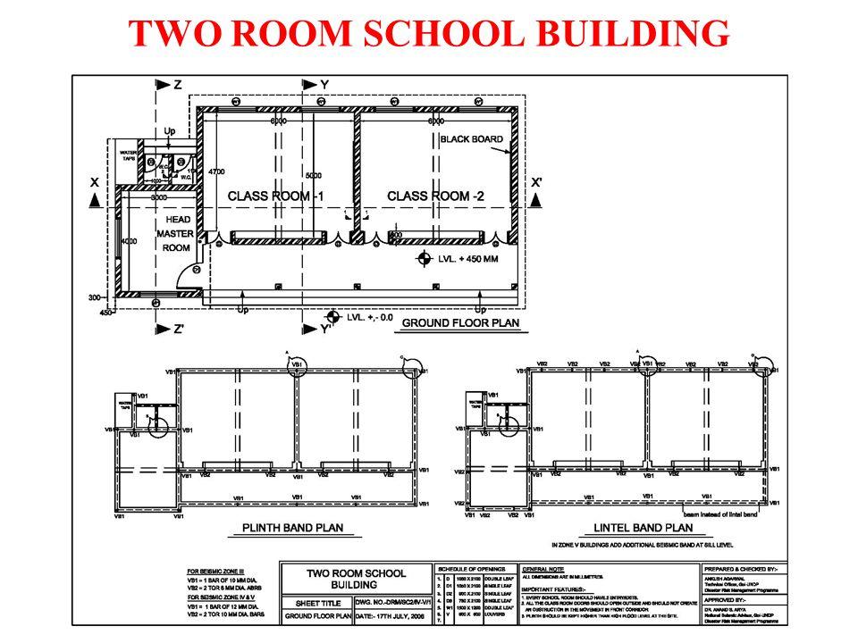 TWO ROOM SCHOOL BUILDING