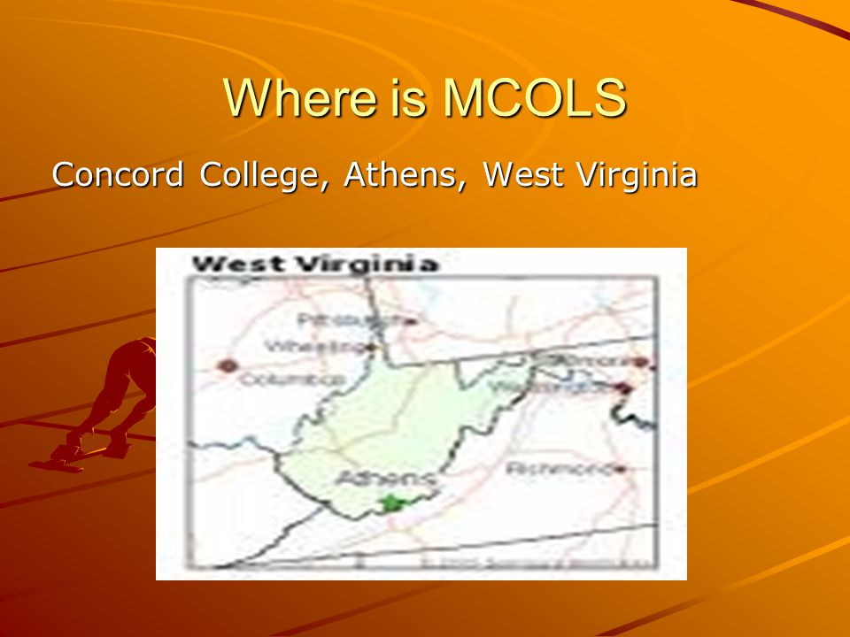 Where is MCOLS Concord College, Athens, West Virginia