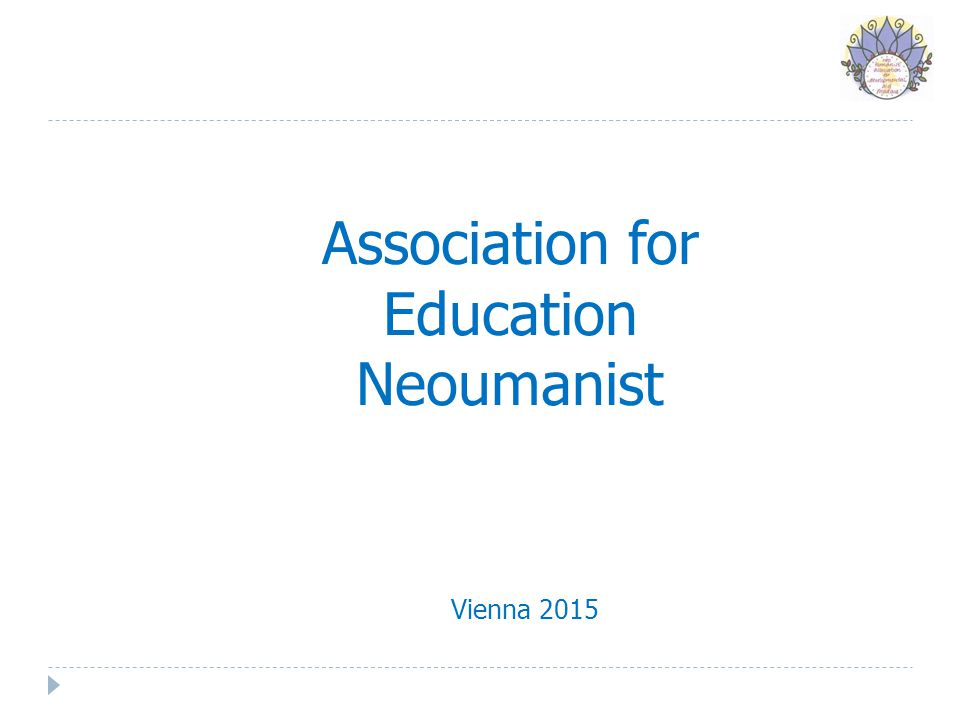 Association for Education Neoumanist Vienna 2015