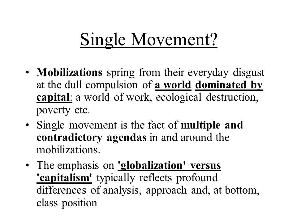 Single Movement.