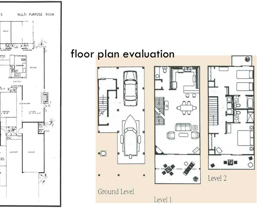 floor plan evaluation
