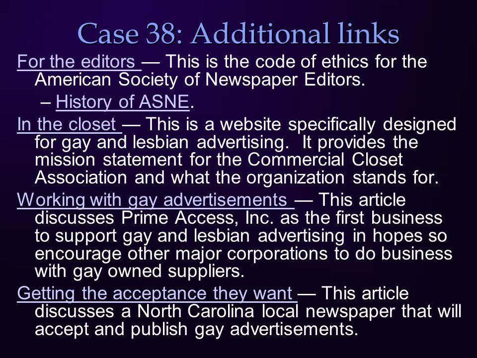 Case 39: Gatekeeper's II: Opening the Door Facts – Empirical Definition Values Principles Loyalties Protestors at the University of Illinois VS Political activist David Horowitz