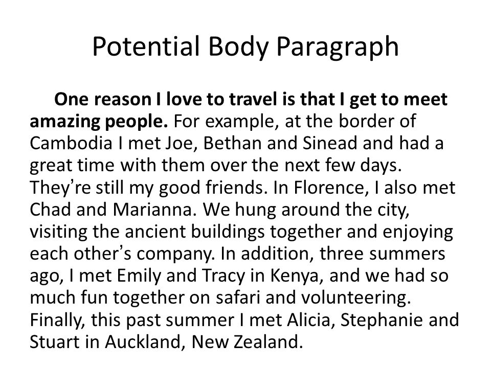 One reason I love to travel is that I get to meet amazing people.