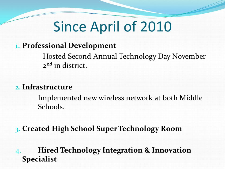 Technology Day 2010 Video