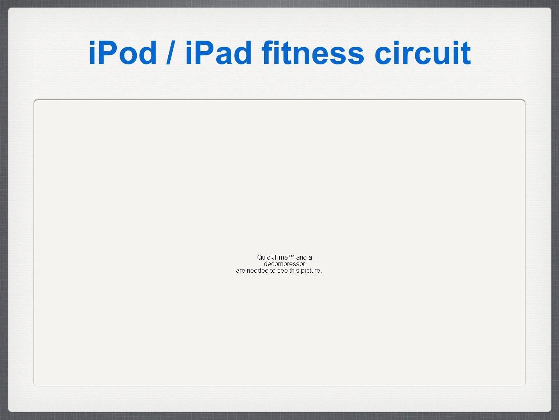 iPod / iPad fitness circuit