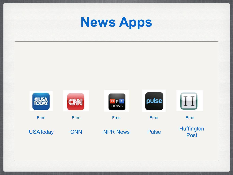 News Apps Free Huffington Post PulseNPR NewsCNNUSAToday