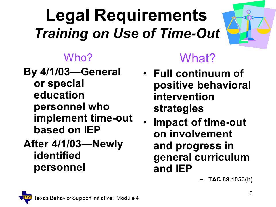 Texas Behavior Support Initiative: Module 4 26 So….Now What?.