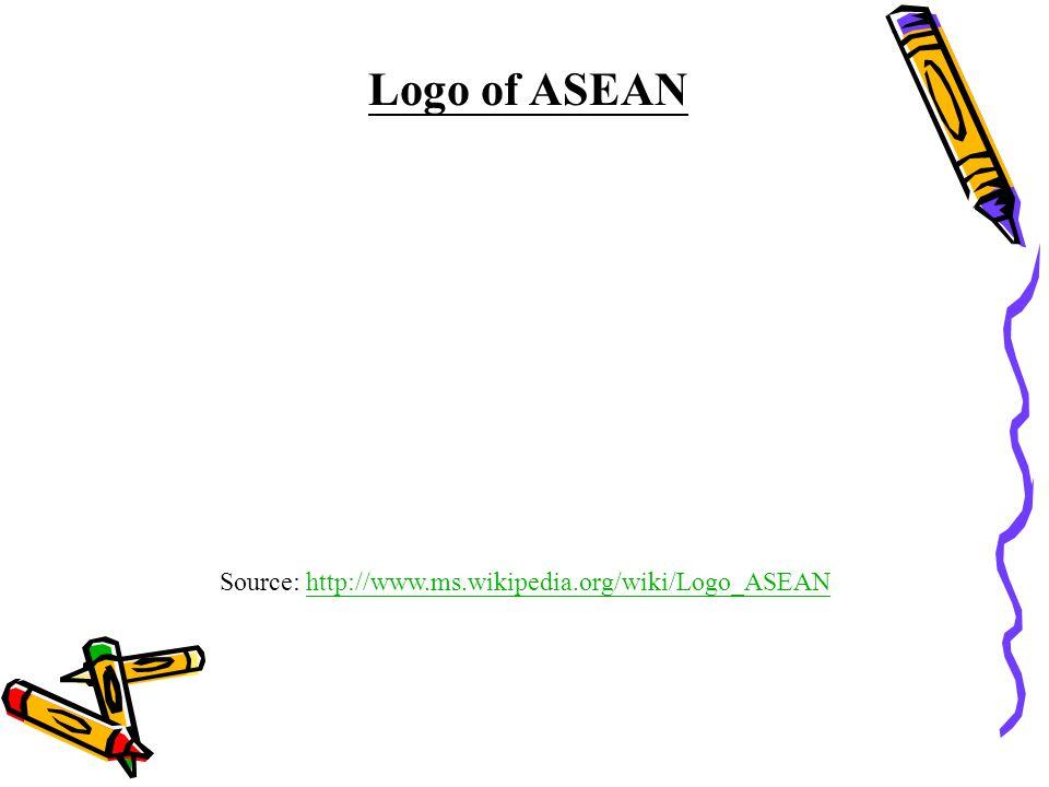 Source: http://www.ms.wikipedia.org/wiki/Logo_ASEANhttp://www.ms.wikipedia.org/wiki/Logo_ASEAN Logo of ASEAN