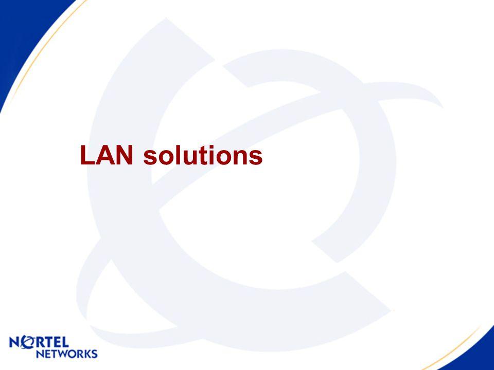 LAN solutions