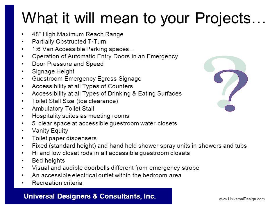 Universal Designers & Consultants, Inc.