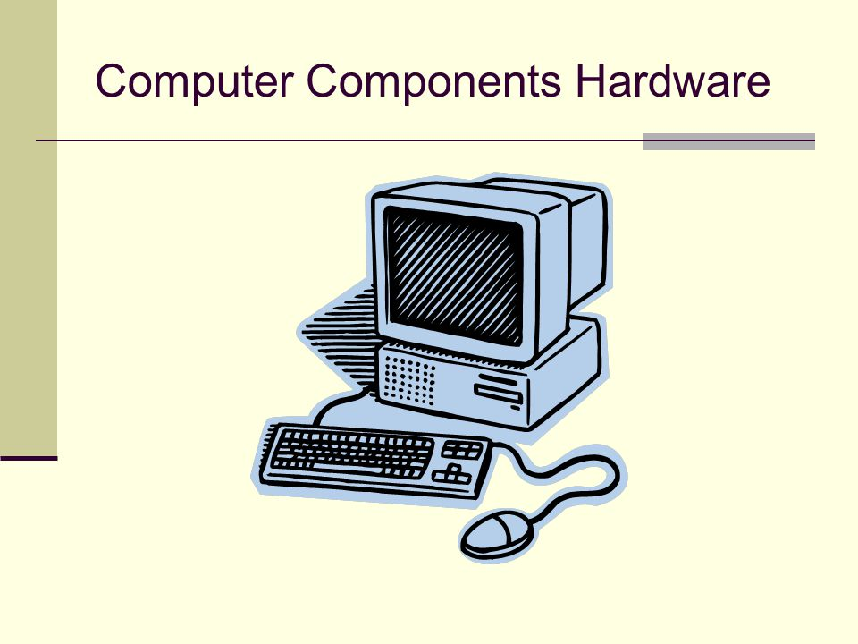 Computer Components Hardware
