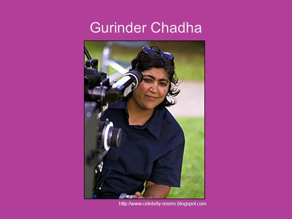Gurinder Chadha http://www.celebrity-moms.blogspot.com