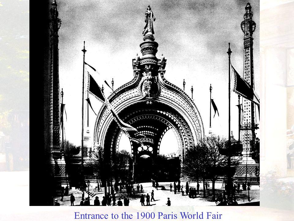 Entrance to the 1900 Paris World Fair