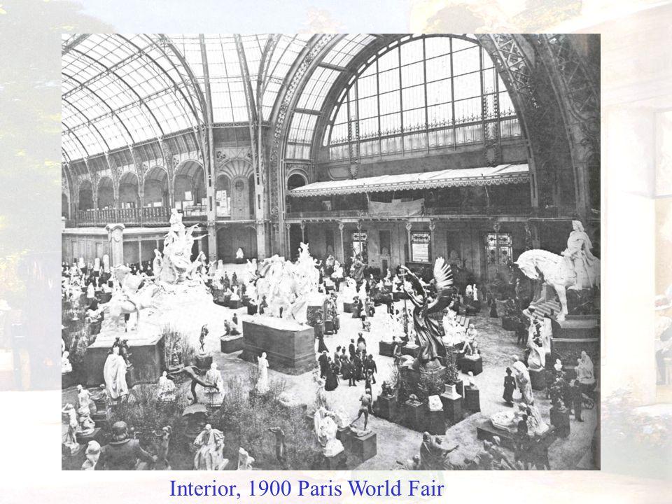 Interior, 1900 Paris World Fair