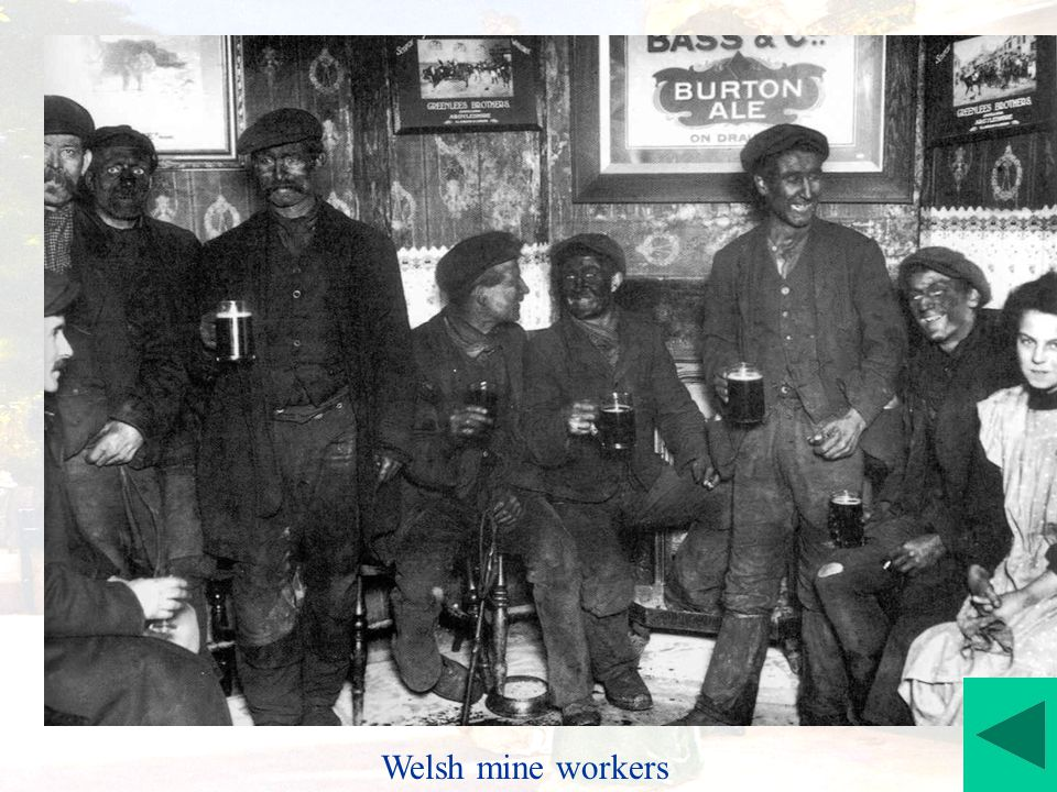 Welsh mine workers