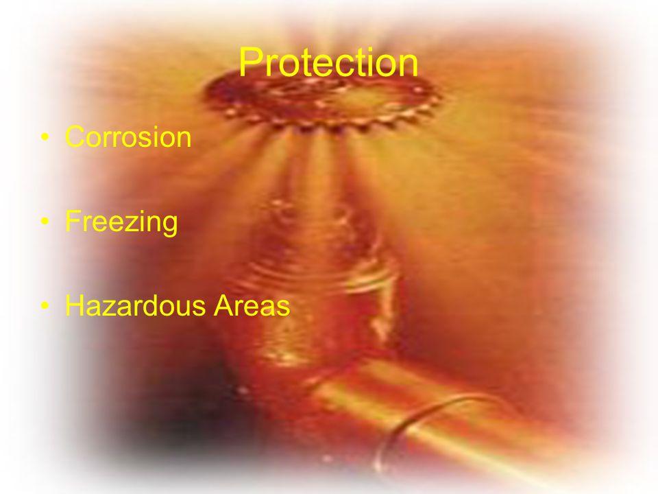 Protection Corrosion Freezing Hazardous Areas