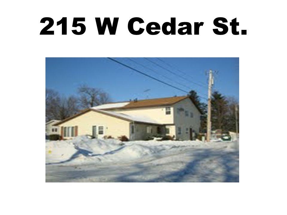 215 W Cedar St.