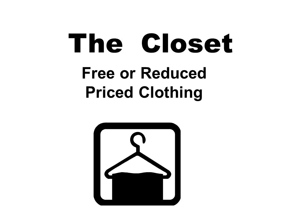 The Closet Free or Reduced Priced Clothing