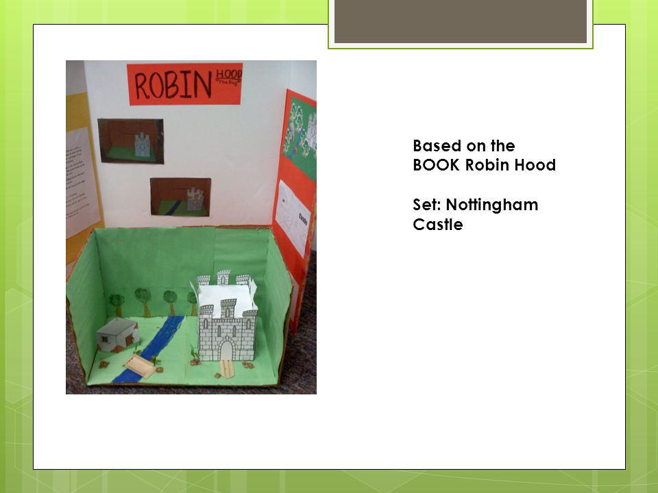 Based on the BOOK Robin Hood Set: Nottingham Castle