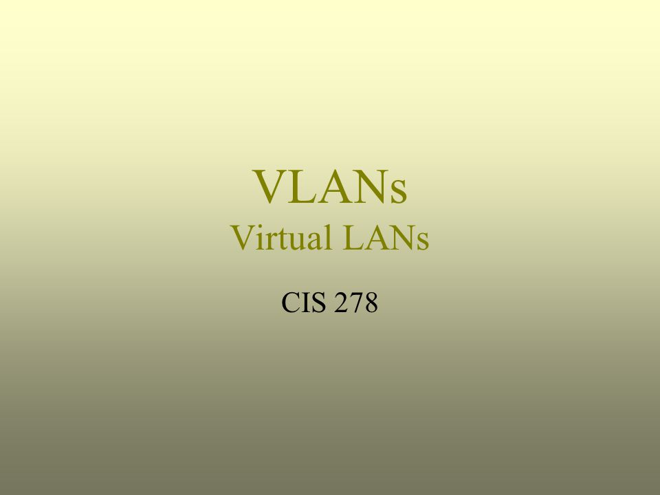 VLAN Definition Per Webopedia: Short for virtual LAN, a network of computers that behave as if they are connected to the same wire even though they may actually be physically located on different segments of a LAN.