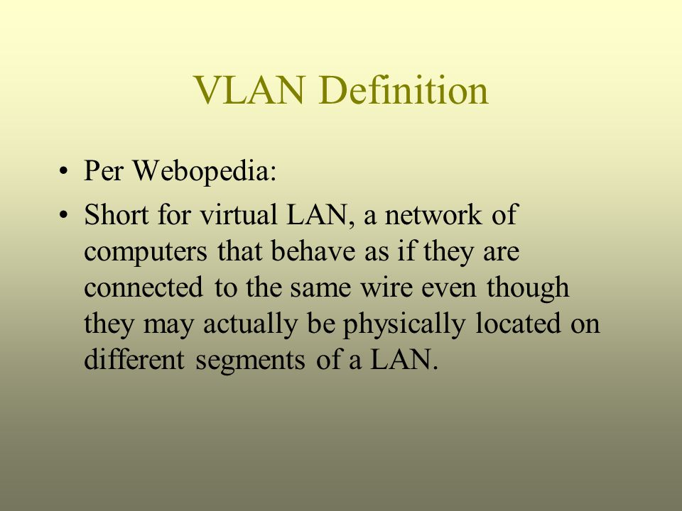 VLANs Trunk Protocol VTP Pruning is a method of removing traffic from a link if there is nothing at the end of that link that requires the VLAN information.