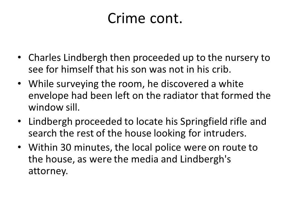 Crime cont.
