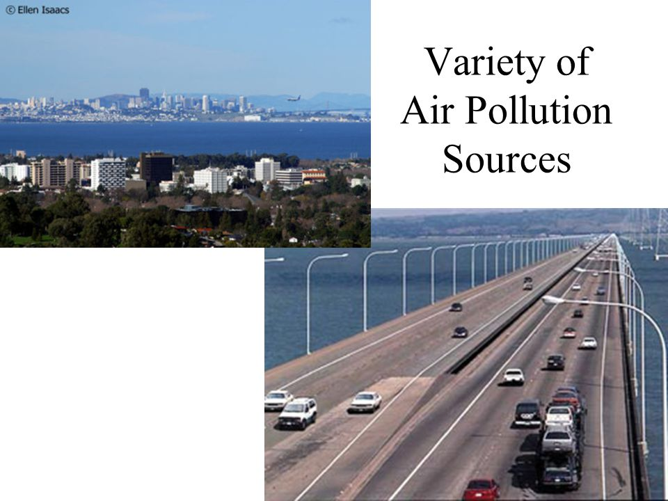 Outdoor Air Quality Regulations say how much pollution is acceptable Indoor Air Quality Not regulated