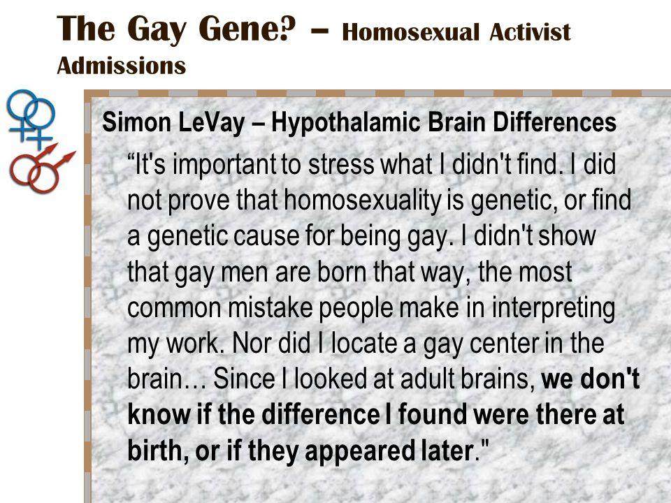 The Gay Gene.