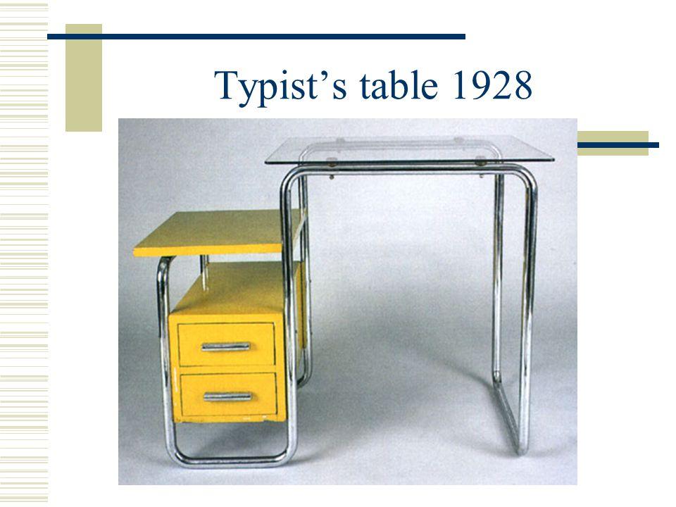 Typist's table 1928