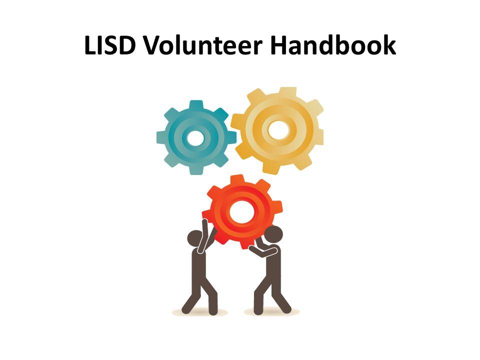 LISD Volunteer Handbook