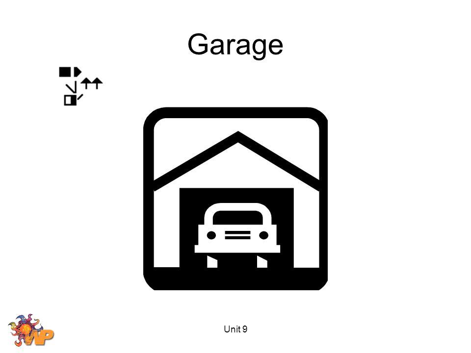 Unit 9 Garage