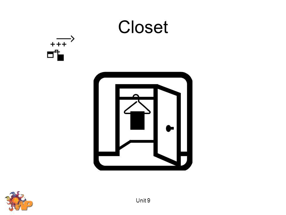 Unit 9 Closet