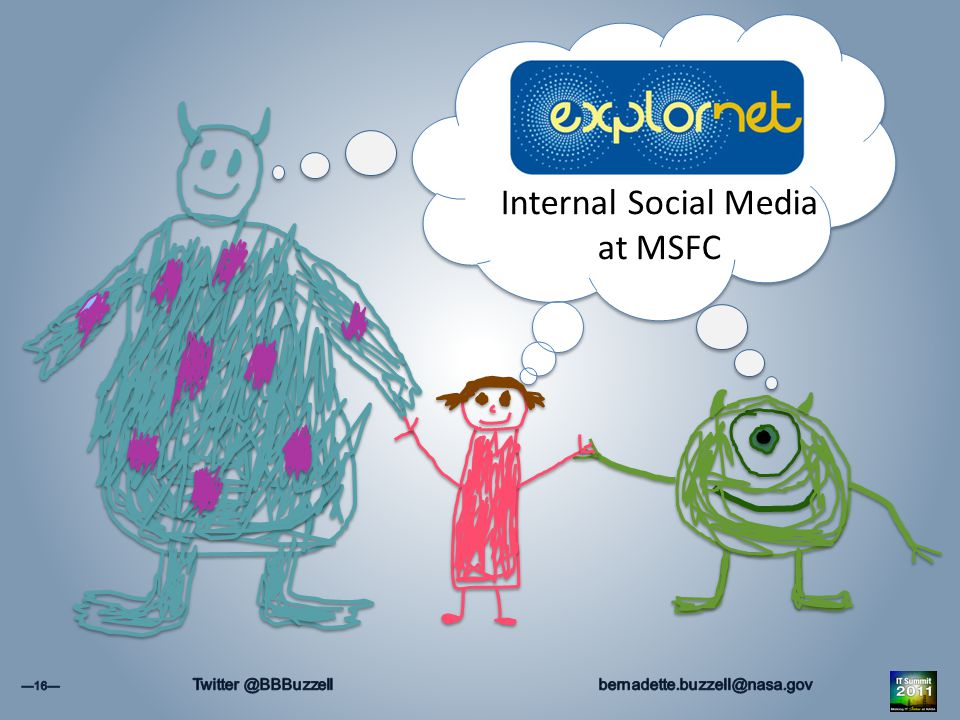 Internal Social Media at MSFC
