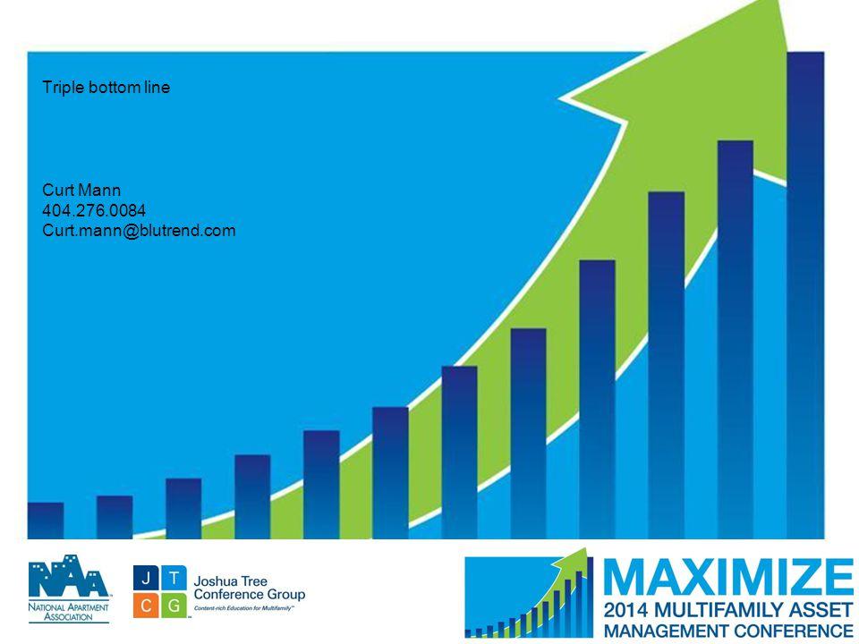 #MAMConf14 Triple bottom line Curt Mann 404.276.0084 Curt.mann@blutrend.com