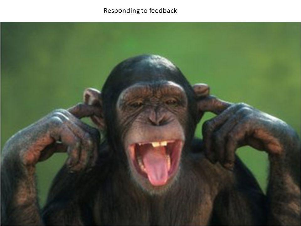 Responding to feedback